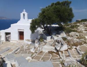 The little church at Paleokastro