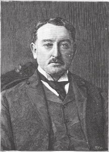 Cecil Rhodes, one of Theodore's backers at Great Zimbabwe (photo: The Bent Archive)