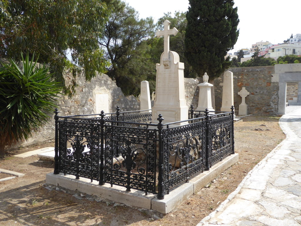 The grave of William Binney
