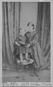 W R Paton with his sister Mary aged 2 or 3