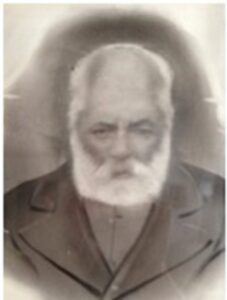 Fig. 6. Τhe schoolmaster of Elymbos Nikias Ioannou-Spanos in a photo taken in old age.