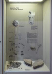 The Karpathos Lady in Pigadia Museum (c) Alan King www.tales.click